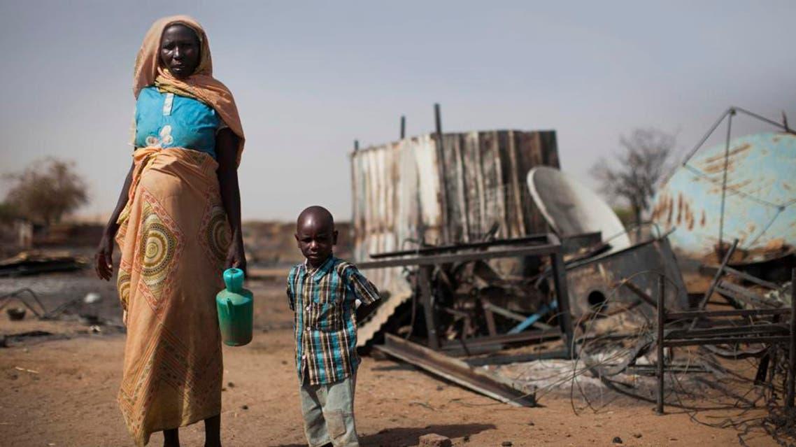 المجاعة في السودان