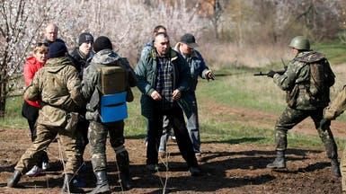 مقتل موالين لروسيا بإطلاق نار شرق أوكرانيا