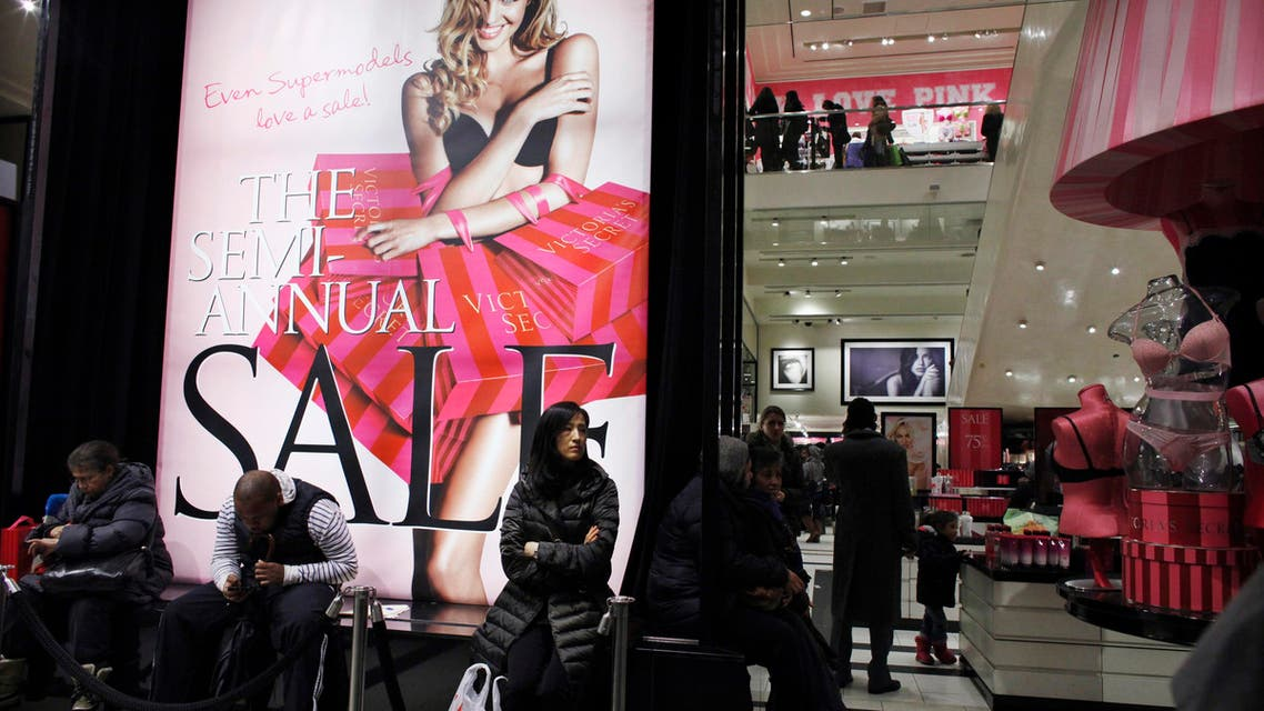 Shoppers rest inside Victoria Secret store in New York. (File photo: Reuters)