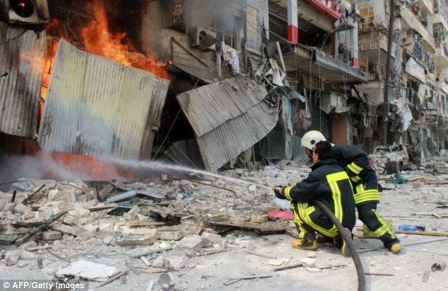 مشاهد من الحرب في سوريا
