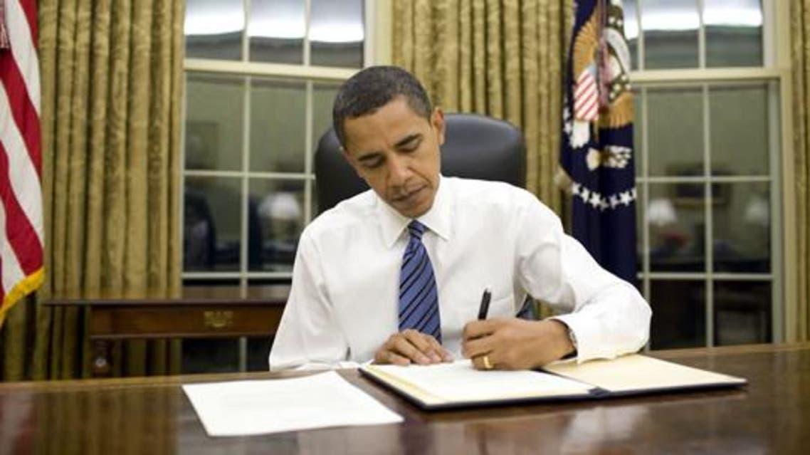 obama in office أوباما في المكتب
