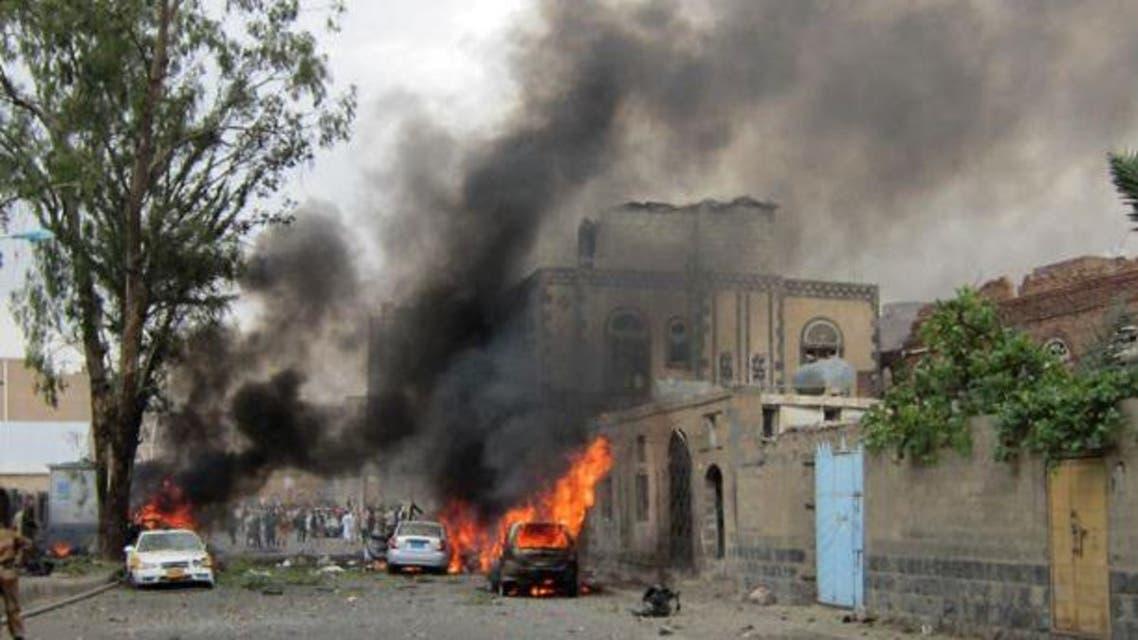 تفجير سابق في اليمن