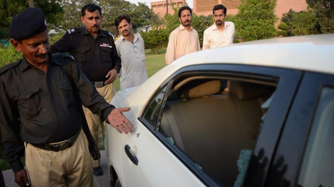 محاولة اغتيال الصحفي الباكستاني حامد مير