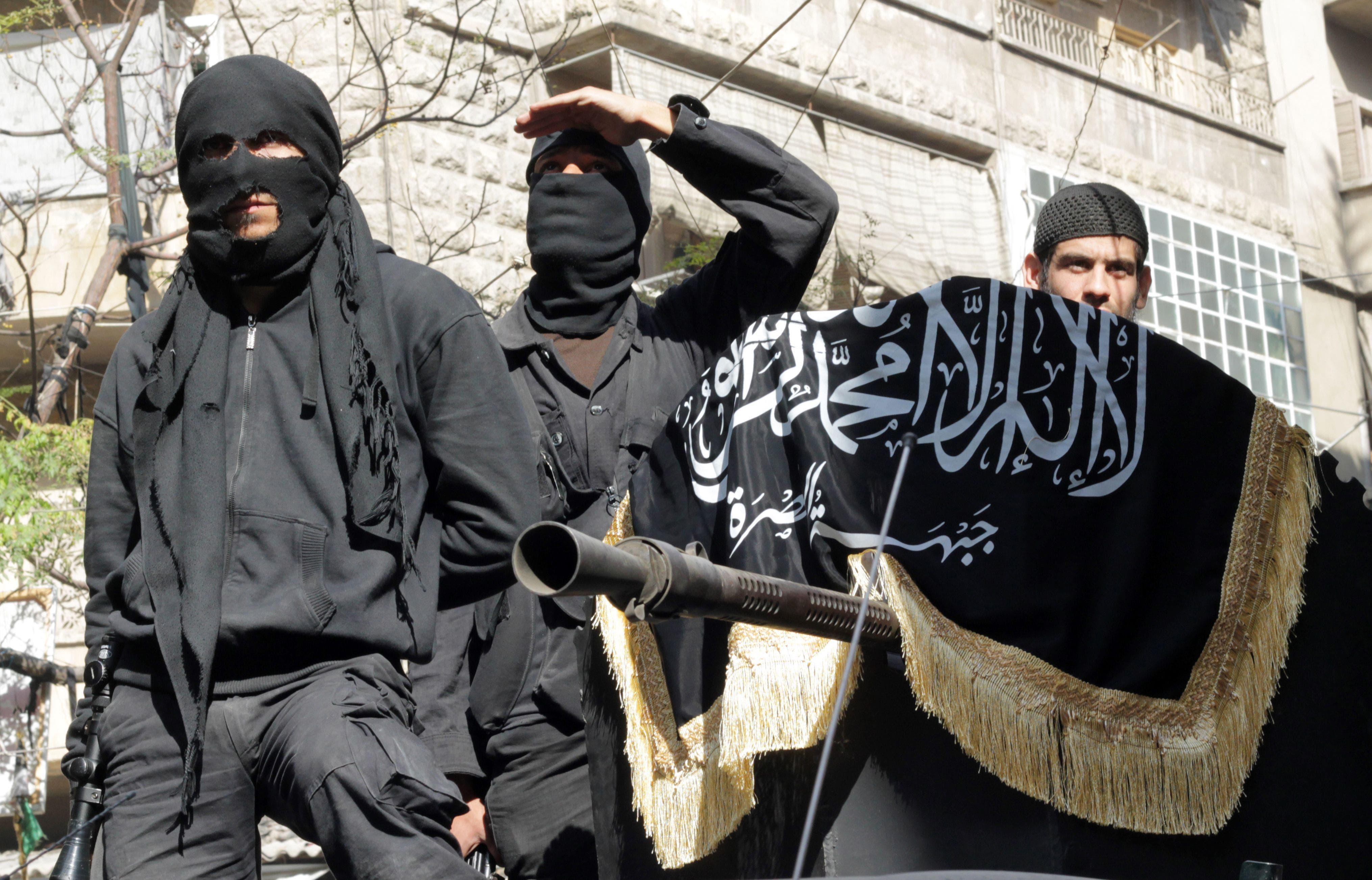 داعش القاعدة في سوريا