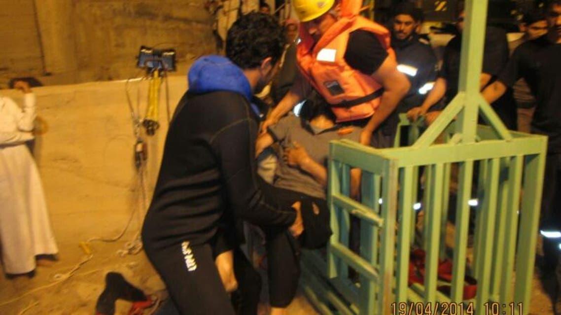 سقوط مصري داخل بئر