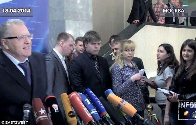 تهديد صحفية روسية حامل بالاغتصاب