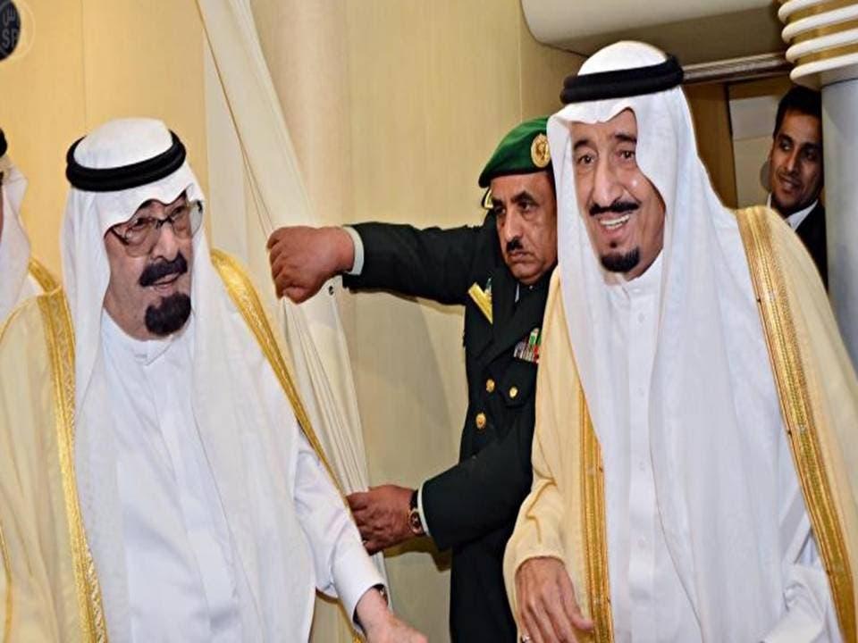الملك عبدالله وسلمان