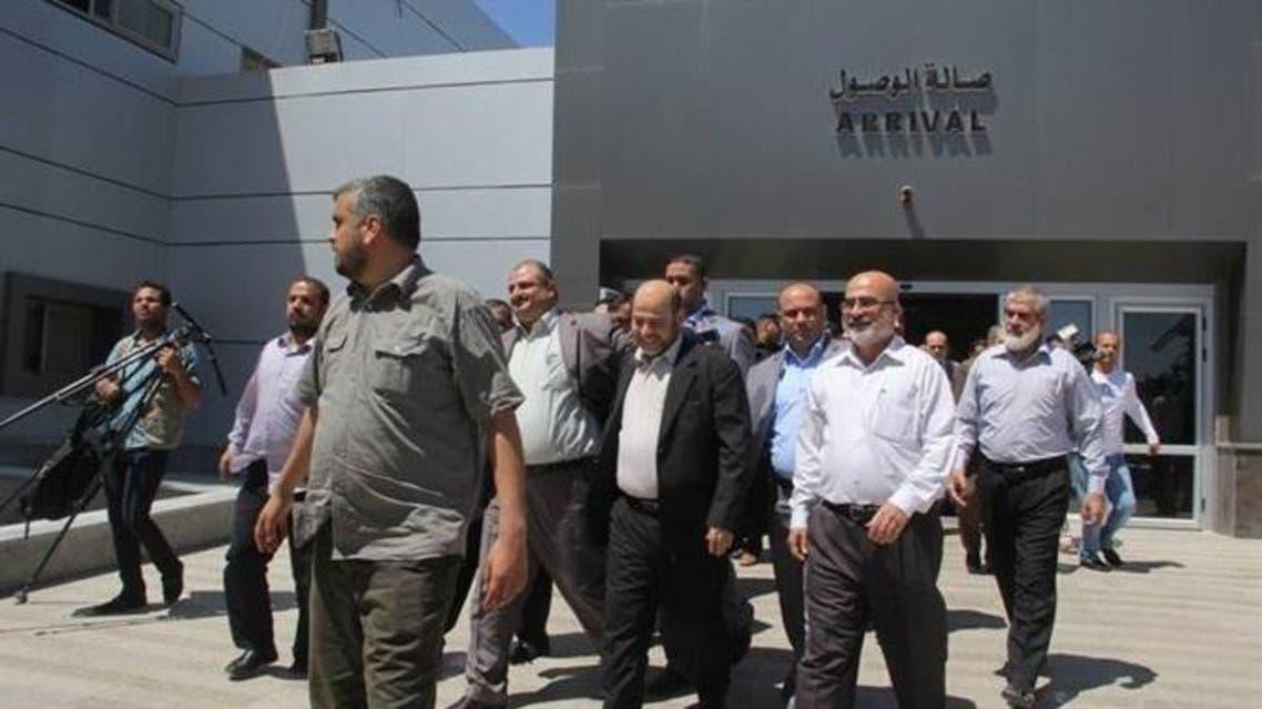 وصول القيادي في حماس موسى ابو مرزوق الى غزة لاتمام المصالحة