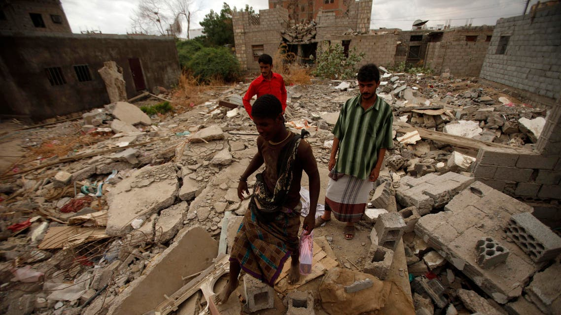 yemen drone reuters