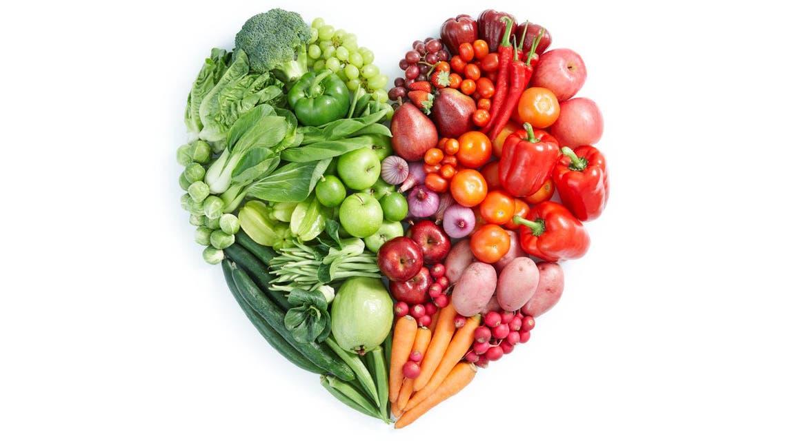 طعام صحي وجبة مثالية