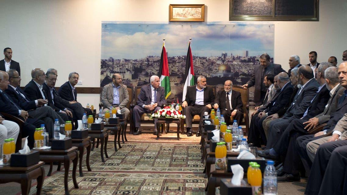 Hamas Fatah Palestine Gaza AFP
