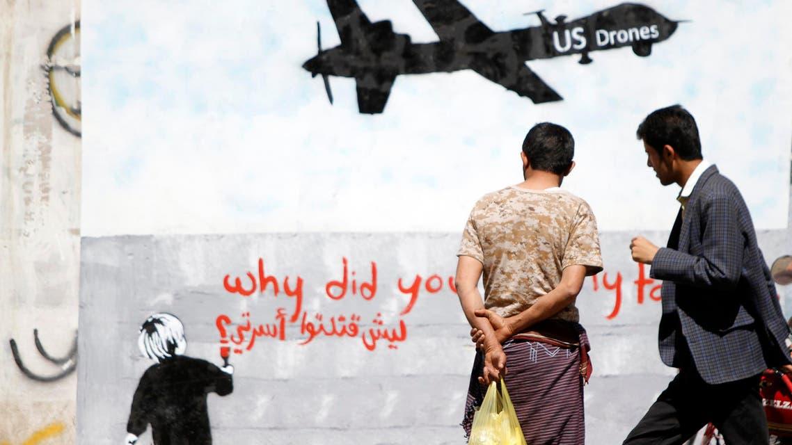 US drone yemen reuters