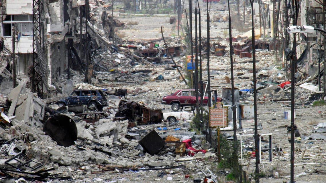 homs reuters