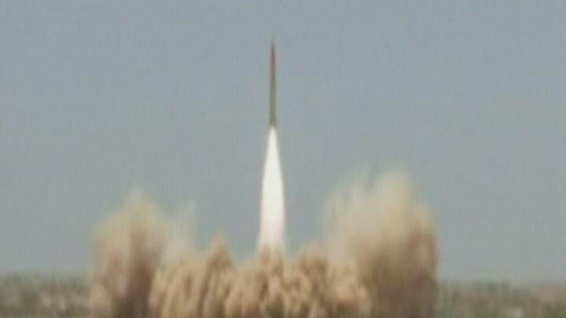 THUMBNAIL_ باكستان تطلق صواريخ قادرة على حمل رؤوس نووية