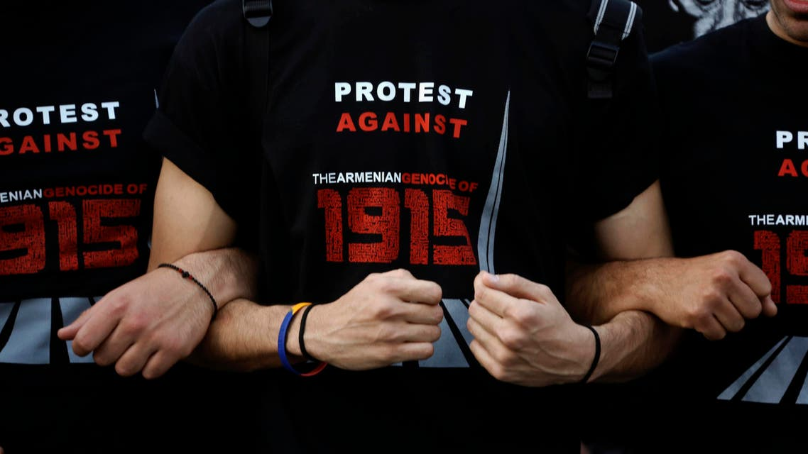 armenia protests genocide  Reuters