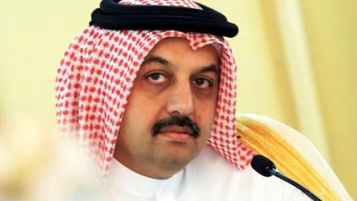 وزير الخارجية القطري خالد العطية