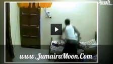 Horrific video: Asian worker lashes old Emirati man