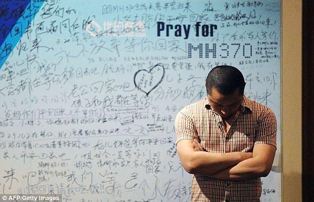 الوف الرسائل من المتضامنين مع ركاب الطائرة الماليزية