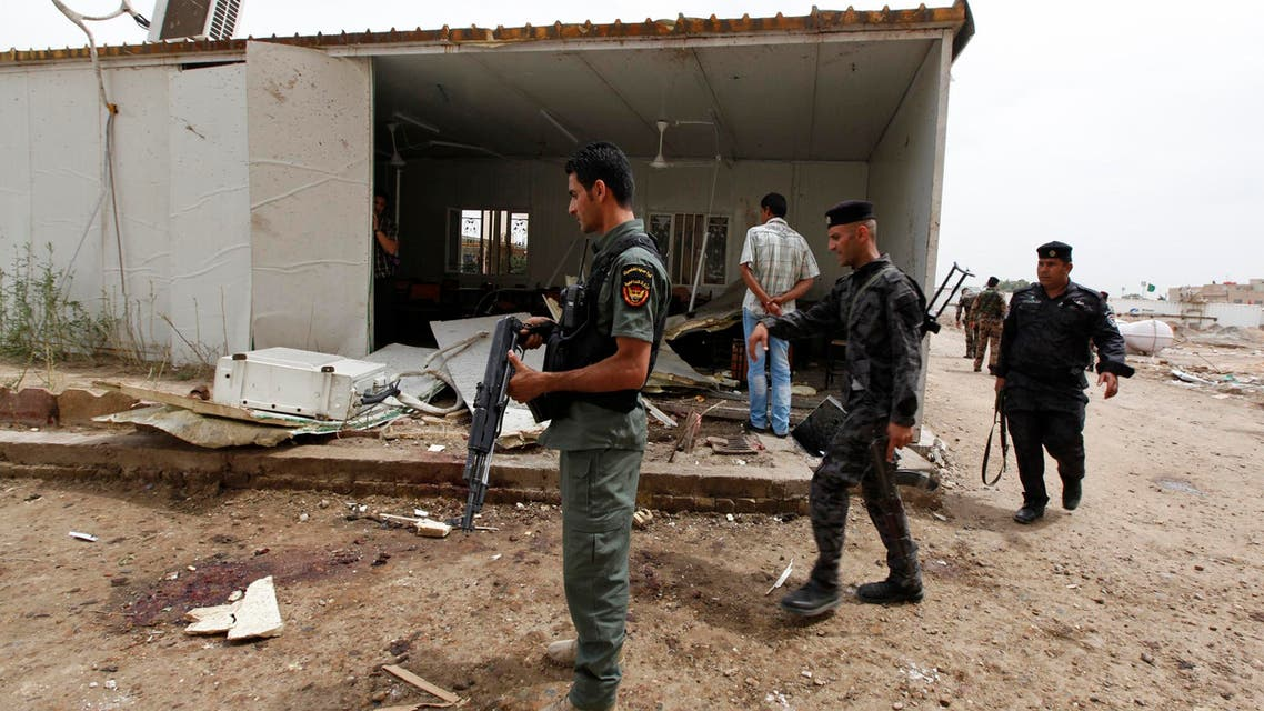 iraq suicide attack reuters
