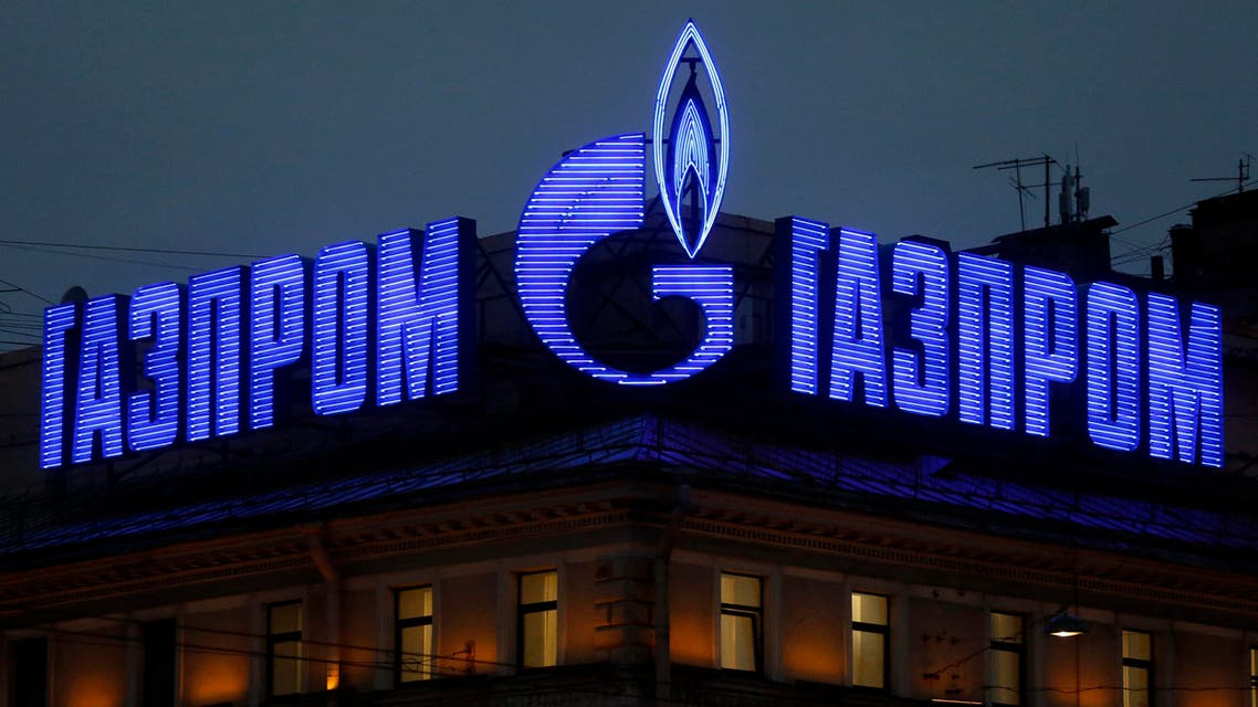 gasprom russia reuters