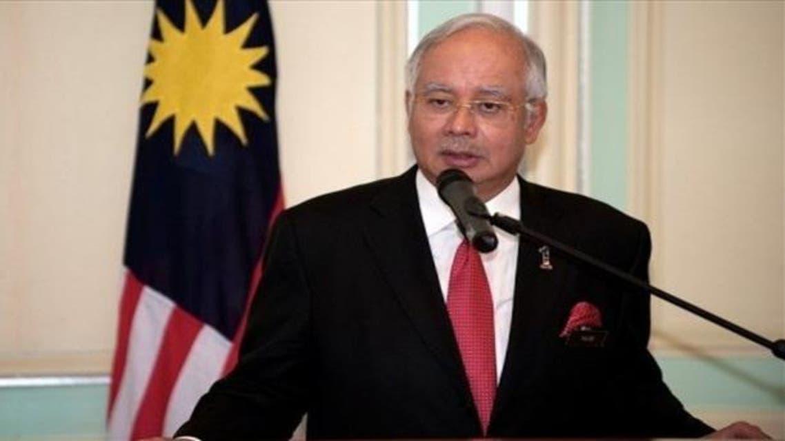 رئيس الوزراء الماليزي نجيب رزق