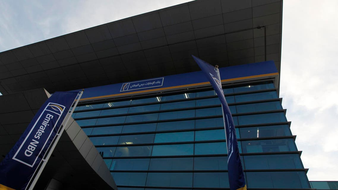 The Emirates NBD head office building is seen on Baniyas Road in Deira Nov. 19, 2012. (File photo Reuters)