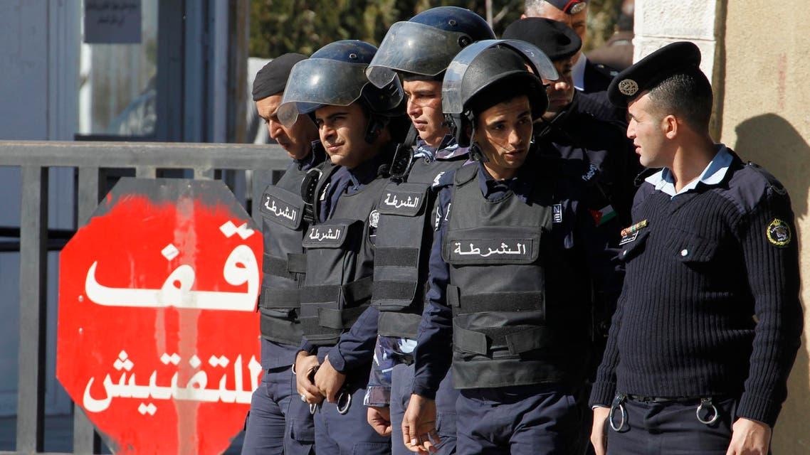 jordan police Amman Reuters