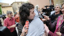 Kidnapped French photographer in Syria arrives home