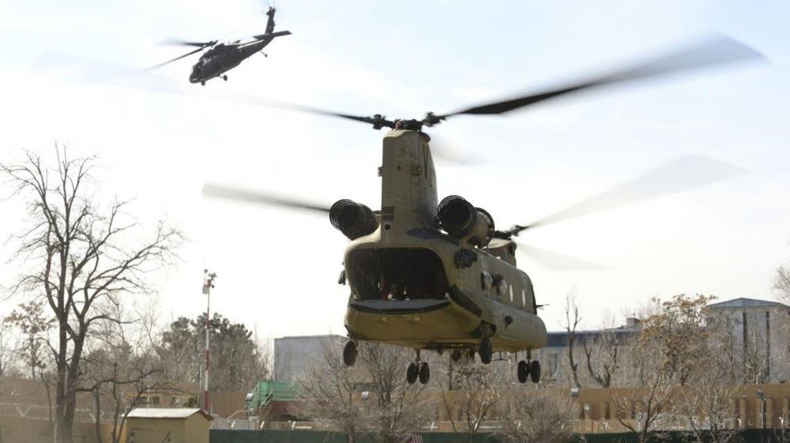 تل 5 في تحطم طائرة عسكرية بريطانية في أفغانستان