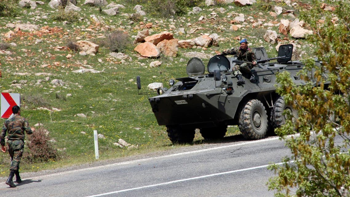 Turkish soldiers patrol on the road near the town of Lice, southeastern Turkey. (File photo: Reuters)