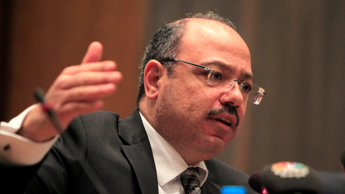 Egypt's newly appointed Finance Minister Hany Kadry Dimian talks during a news conference in Cairo March 12, 2014. (Reuters)