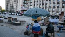 Pro-Russia crowd storms TV center in east Ukraine