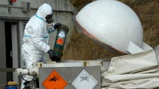 200 tons of Syrian chemicals in UK for destruction