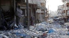 شامی فوج کا الباب پر ایک اور بیرل بم حملہ ،11 شہری ہلاک