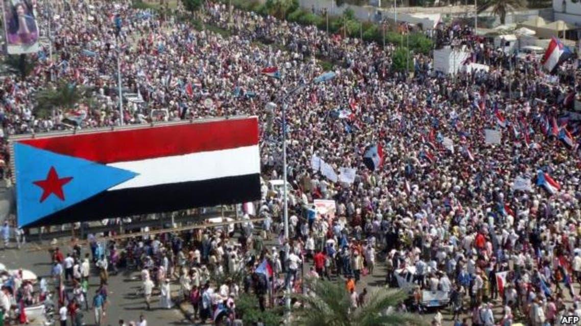 مظاهرة في جنوب اليمن للمطالبة بالاستقلال عن الشمال