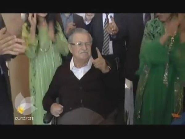 فيديو.. ظهور رئيس العراق مدلياً بصوته بعد غياب طويل