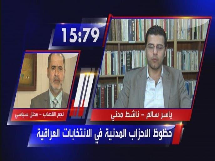 حظوظ الاحزاب المدنية في الانتخابات العراقية