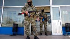 Pro-Russia gunmen seize another east Ukraine town