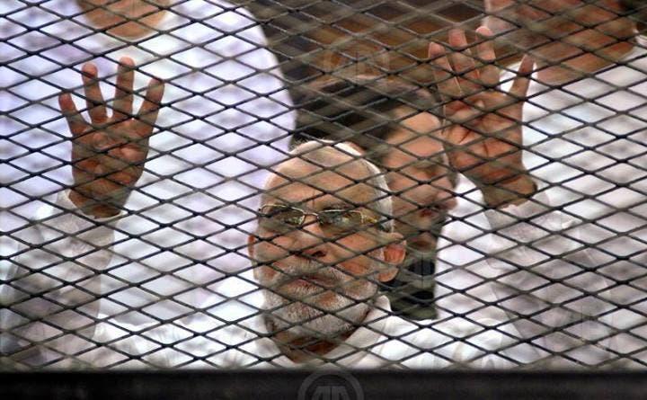 """من محاكمة الإخوان محمد بديع """"أرشيفية"""""""