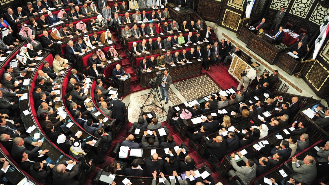 syria parliament reuters