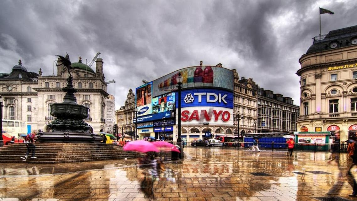 piccadilly london shutterstock