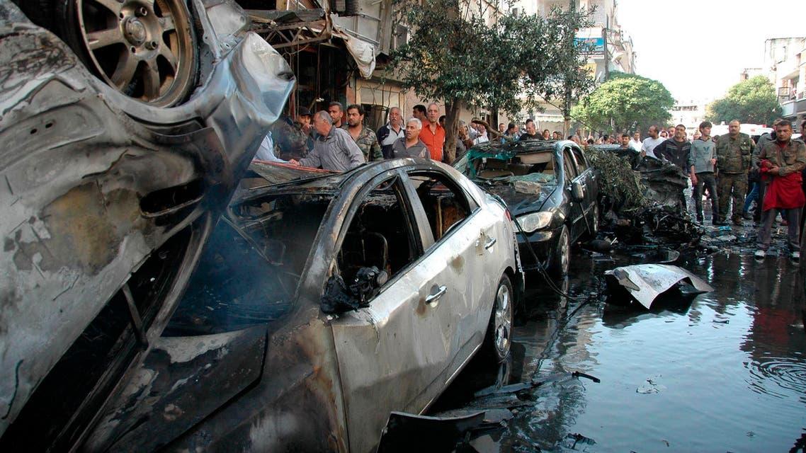 انفجار في حمص