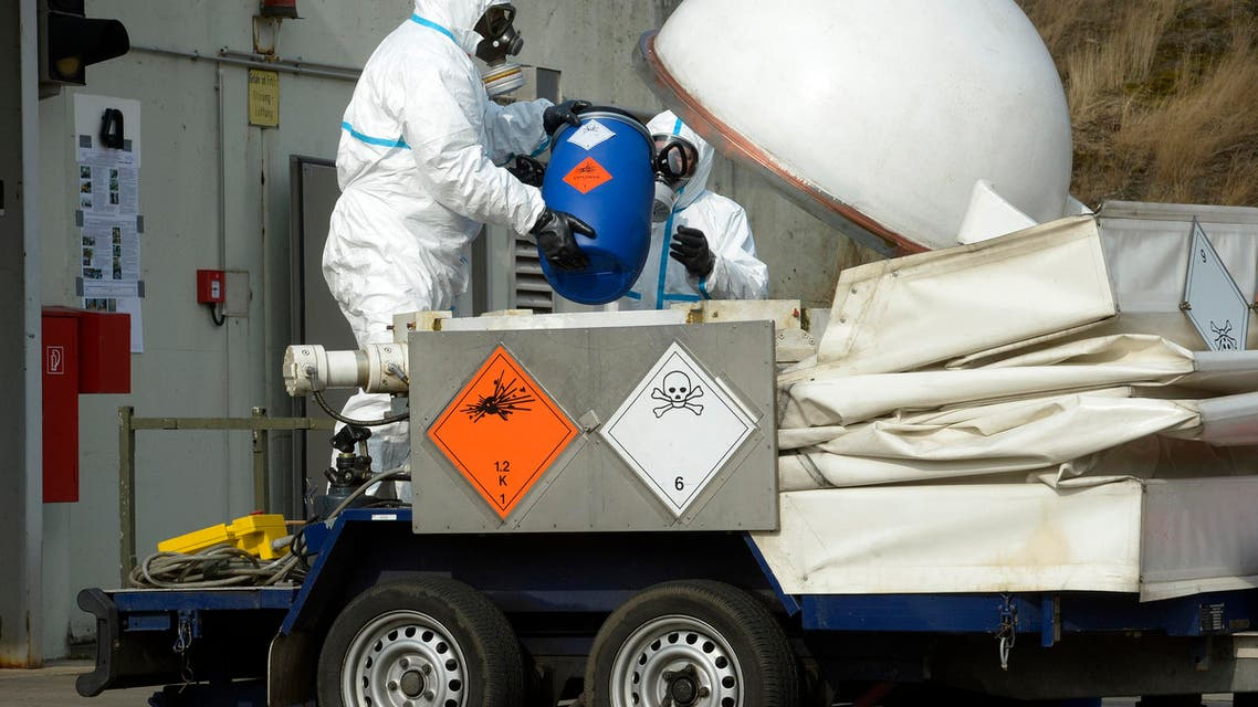 chemical weapons reuters