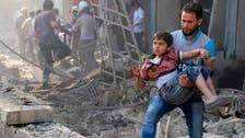 'Barrel bombs' prompt calls for Syria embargo