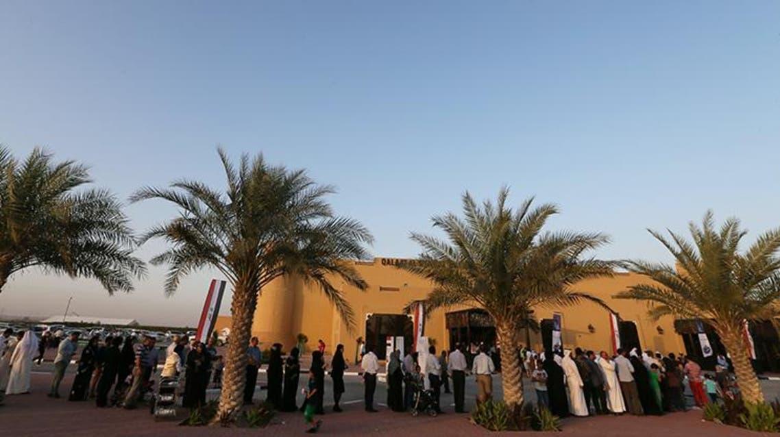 تصويت الناخبين من العراق في دبي