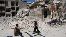 شامی فوج کا حلب میں اسکول پر فضائی حملہ، 25 ہلاک