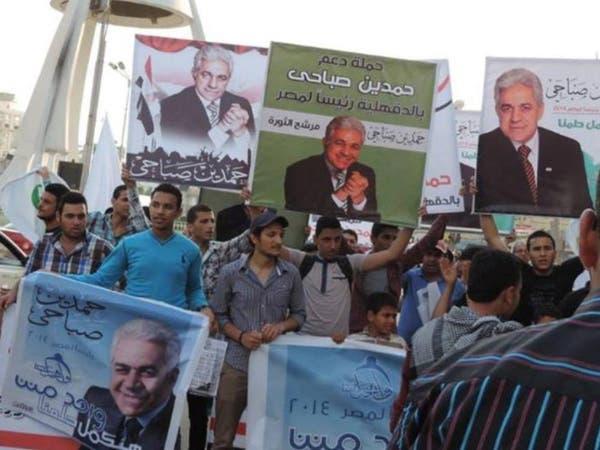 حمدين صباحي يعرض برنامجه الانتخابي للحوار المجتمعي