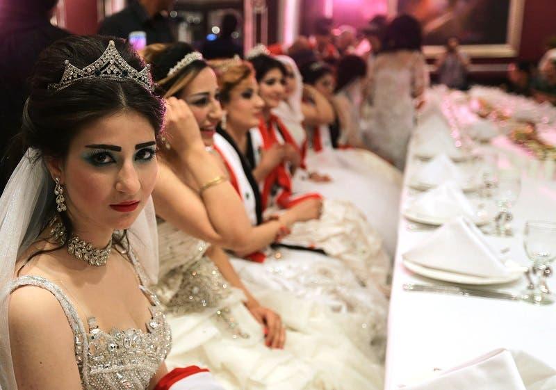 Mass wedding in Syria