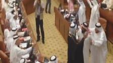 بالفيديو.. مشاجرة بين نائبين بمجلس النواب البحريني