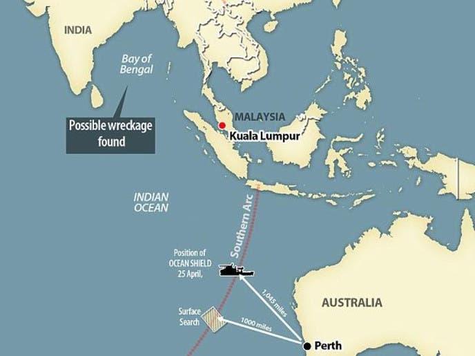 الطائرة المفقودة..هل عثروا على الحطام بخليج البنغال؟